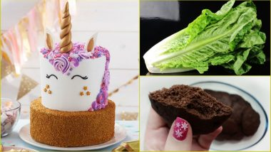 Top Food Searches on Google in 2018: Unicorn Cake, Romaine Lettuce and a Lot of Keto Diet Recipes in Top-10 Food Trends!