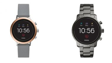Seven New Fossil Touchscreen Smartwatches Unveiled in India