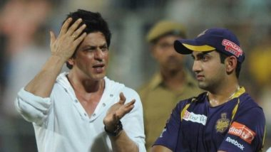 Gautam Gambhir Retires From all Forms of Cricket: KKR Co-Owner Shah Rukh Khan Has an Advice for the Captain