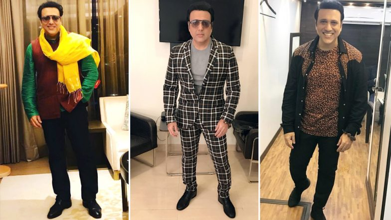 Happy Birthday Govinda: The Actor's Fashion Choices Are as Colourful and Fun as his Personality - See Pics