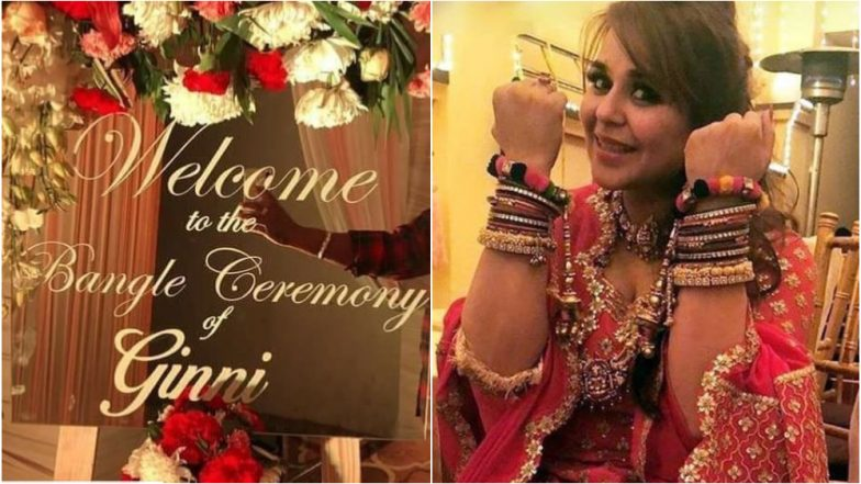 Kapil Sharma-Ginni Chatrath Wedding: Here Are Pictures From Ginni's 'Bangle' Ceremony!