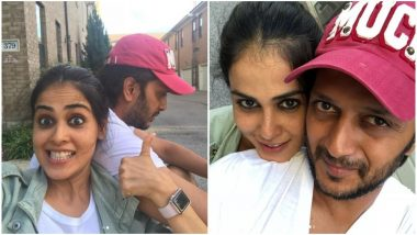 Genelia D'Souza's Birthday Wish For Husband Riteish Deshmukh Will Melt Your Hearts - View Pics
