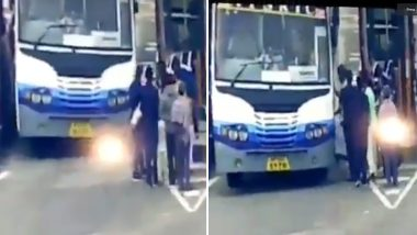 Toll Plaza VIPgiri Continues: TDP MLA Misbehaves With Employee in Guntur, Parks Car And Leaves on Bus; Watch Video
