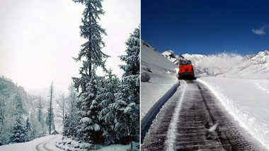 Pictures of Frozen Dal Lake in Srinagar and Snowfall in Manali Makes Us Want to Rush to the Hills This Holiday Season!