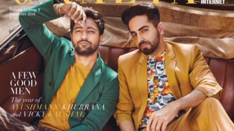 Ayushmann Khurrana & Vicky Kaushal Team Up For 'A Few Good Men' Theme! View Full Cover