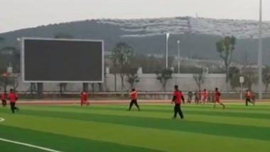 Hand-in-Hand 2018: Indian Army, China's PLA Play Friendly Football Match in Chengdu; Watch Video