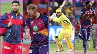 Most Expensive IPL Players: List of Cricketers From All Seasons Who Won The Highest Bids in Auctions