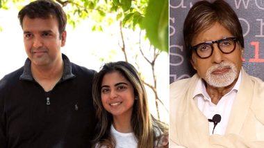Isha Ambani – Anand Piramal Wedding: Amitabh Bachchan Will Be Doing an Opening Address for All the Guests