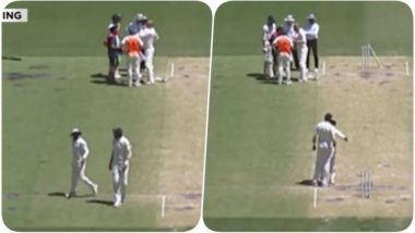 Ishant Sharma Yells at Ravindra Jadeja 'Shove Your Anger up Your A**e,' During their Verbal Spat in India vs Australia, Day 5 Second Test (Watch Video)
