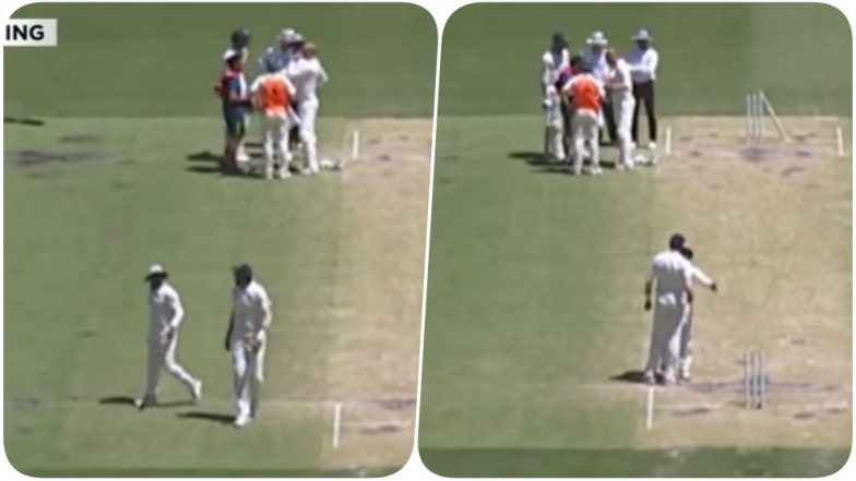 Ishant Sharma & Ravindra Jadeja's Argument During Day 4 of IND vs AUS, 2nd Test Sparks Controversy Suggesting Not Everything is Fine in the Team (Watch Video)