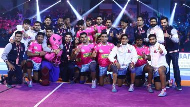 Jaipur Pink Panthers vs U Mumba, PKL 2018-19 Match Live Streaming and Telecast Details: When and Where To Watch Pro Kabaddi League Season 6 Match Online on Hotstar and TV?