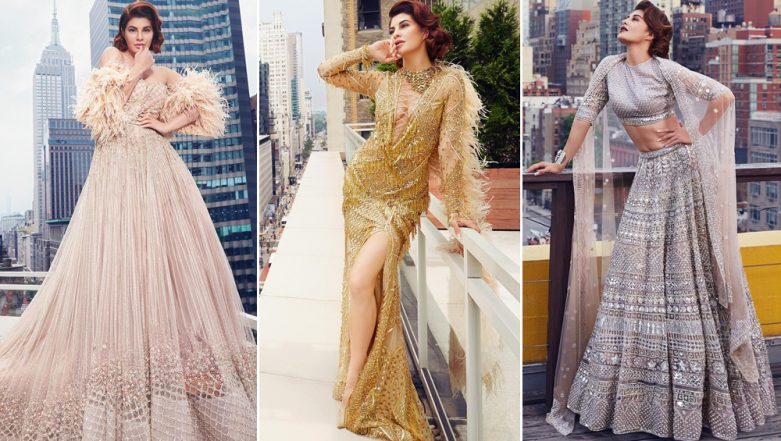 Jacqueline Fernandez Turns Muse for Falguni and Shane Peacock's New Couture Campaign and Her Pictures are Simply Ravishing