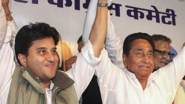 Kamal Nath is New Madhya Pradesh Chief Minister, Thanks Jyotiraditya Scindia For Support
