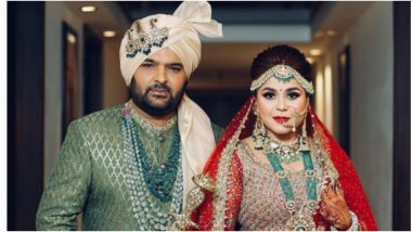 Kapil Sharma-Ginni Chatrath Wedding: 'Dilwale Dulhaniya Le Gaye'… Here Are The Couple's Wedding Pictures!