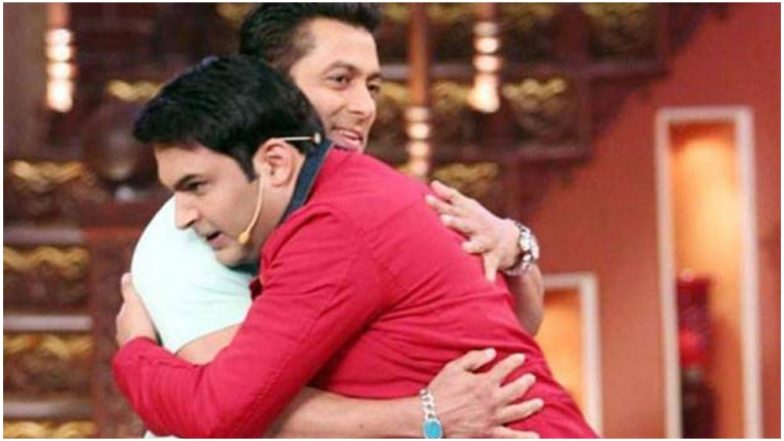 The Kapil Sharma Show: Salman Khan Will Be the First Guest on the Comedian's New Show