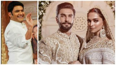 When Ranveer Singh Ragged Kapil Sharma at The Former's Wedding Reception!