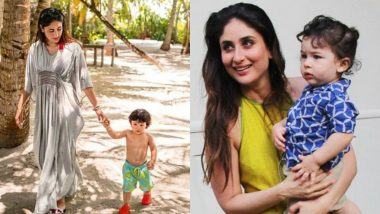 Taimur Doesn't Like to See His Mommy Kareena Kapoor Wearing Make Up