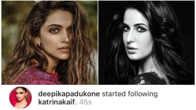 Deepika Padukone Ends Her Cold War With Katrina Kaif, Starts Following the Actress on Instagram
