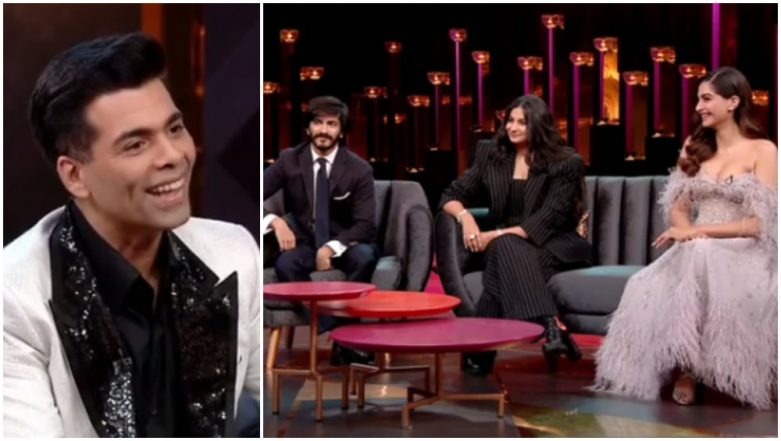 Koffee With Karan 6 Preview: Unlike Sonam Kapoor, Anil Kapoor Was Not Supportive of Rhea Kapoor Entering Films - Watch Video