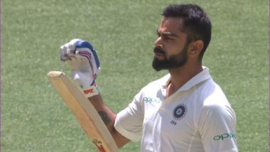 Watch Virat Kohli's 'Let My Bat Do the Talking' Celebration After Scoring 25th Test Century