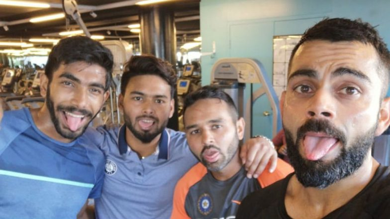 Virat Kohli and Co Tired After Group Circuit Training, Indian Cricket Team Captain Posts the Latest Photo Ahead of Ind vs Aus 1st Test 2018
