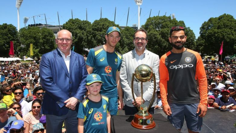Virat Kohli and Tim Paine Come Together for Indian Summer Festival at the Yarra Park Ahead of Boxing Day Test at MCG