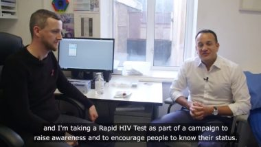 Leo Varadkar Becomes First Irish PM To Take HIV Test Publically On World AIDS Day 2018