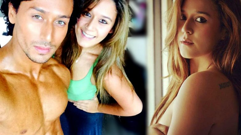 VIDEO! Krishna Shroff Makes Brother Tiger Shroff Proud With Her Passion For Fitness!