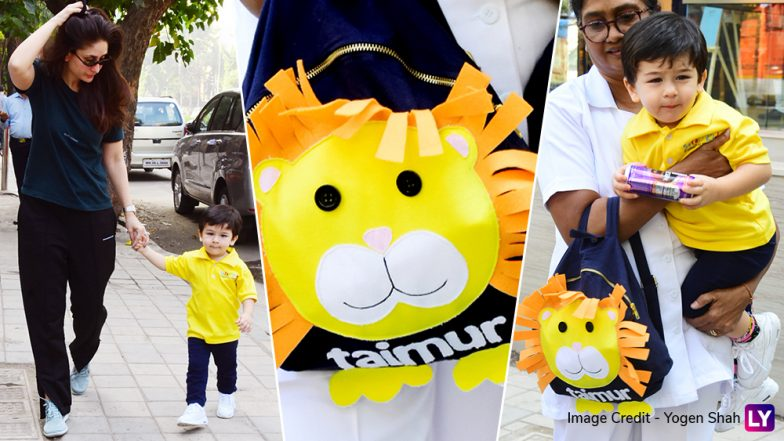 Taimur Has a Customised Bag Now and We Wonder When This Will Go On Sale! View Pics