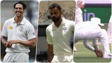 India vs Australia, 2nd Test, Day 3: Mitchell Johnson Tweets Virat Kohli's Dismissal Was Correct; Gets into Argument with the Netizens