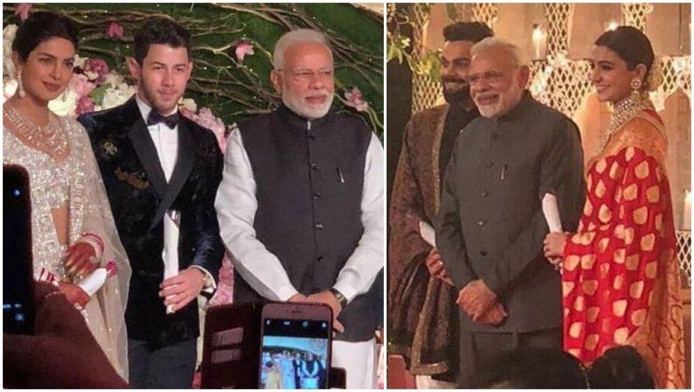 Here's What PM Narendra Modi Gifted Priyanka Chopra – Nick Jonas and Anushka Sharma – Virat Kohli on Their Wedding Receptions