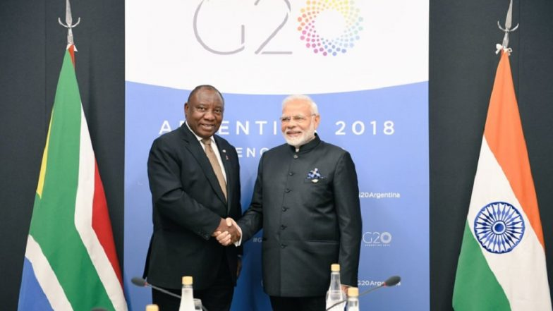 South African President Cyril Ramaphosa Accepts PM Modi's Invite to Attend Republic Day 2019 as Chief Guest: Foreign Secy
