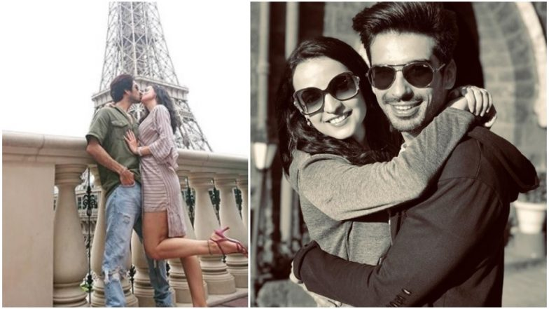 On Mohit Sehgal's Birthday, Wifey Sanaya Irani Shares a Throwback Picture of Them Sharing a Passionate Kiss in Paris