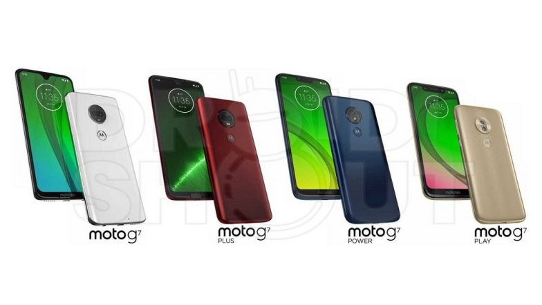 Motorola Moto G7 Press Render Images Leaked Online; Likely To Be Launched in Four Variants