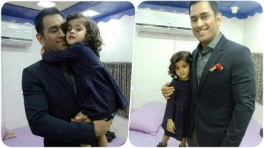 MS Dhoni to a Little Girl, 'I Stay in a Bus, Don't Have a Home' (Watch Video)
