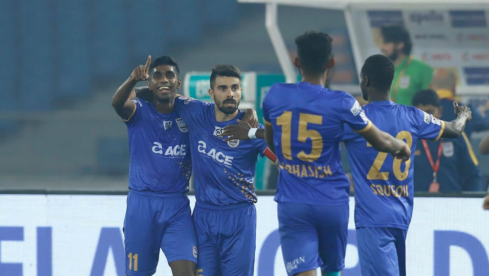ISL 2019–20 Result: NorthEast United FC and Mumbai City FC Play Out a Nail-Biting 2–2 Tie