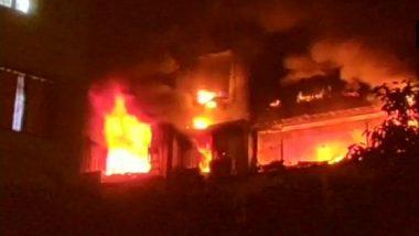 Mumbai Fire: 'Level-3' Blaze Breaks Out at Sargam Society in Tilak Nagar; 5 Dead, 2 Injured