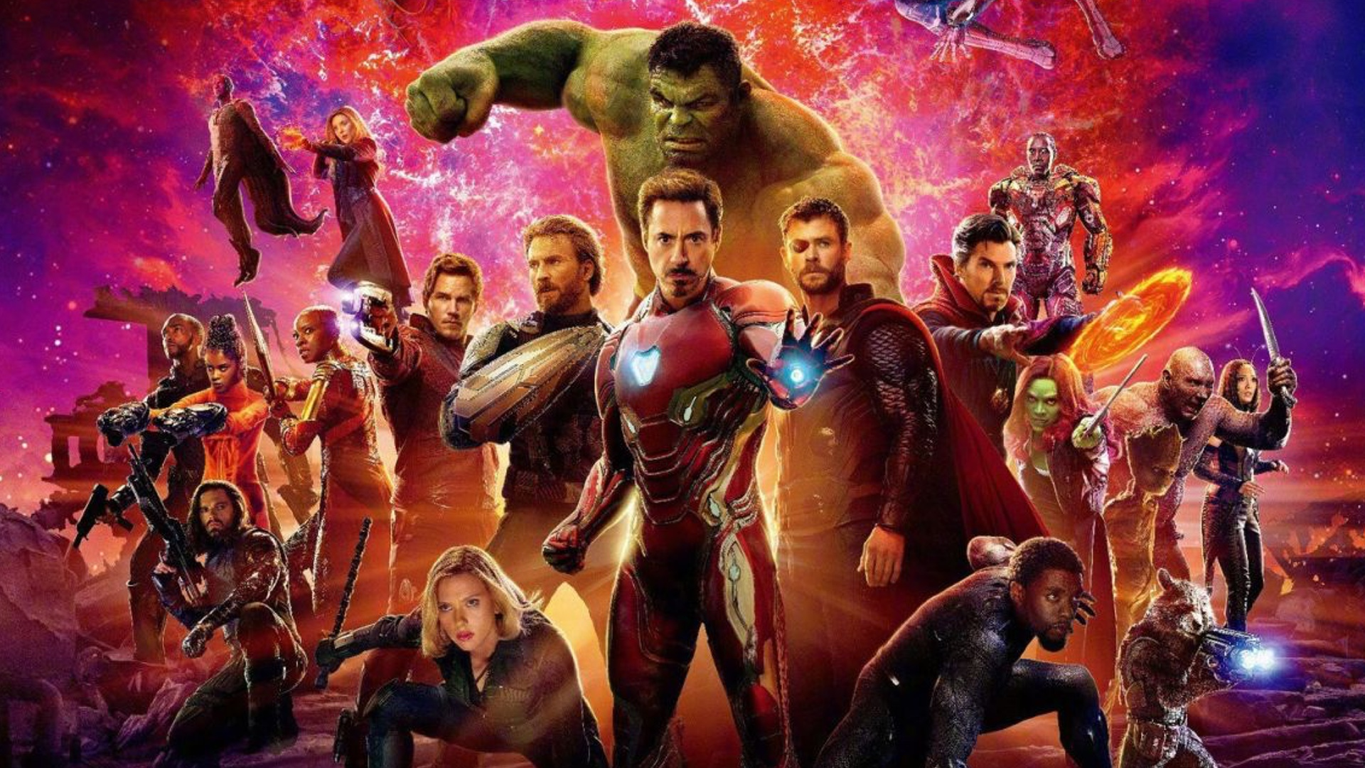 Avengers Infinity War, Black Panther, Mission: Impossible