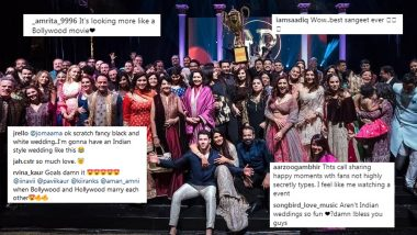 Priyanka Chopra-Nick Jonas' Sangeet Ceremony Pics: Twitterati Gets Divided For NickYanka, Some Call It a Dream While Others Term it as an 'Award Function'