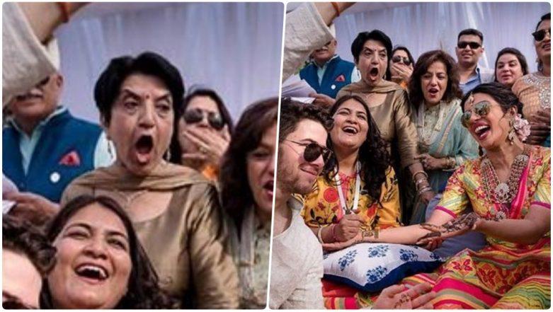 Priyanka Chopra & Nick Jonas Wedding: Couple Are Yet to Share Pics, but Shocked Aunty Already Stole Their Thunder