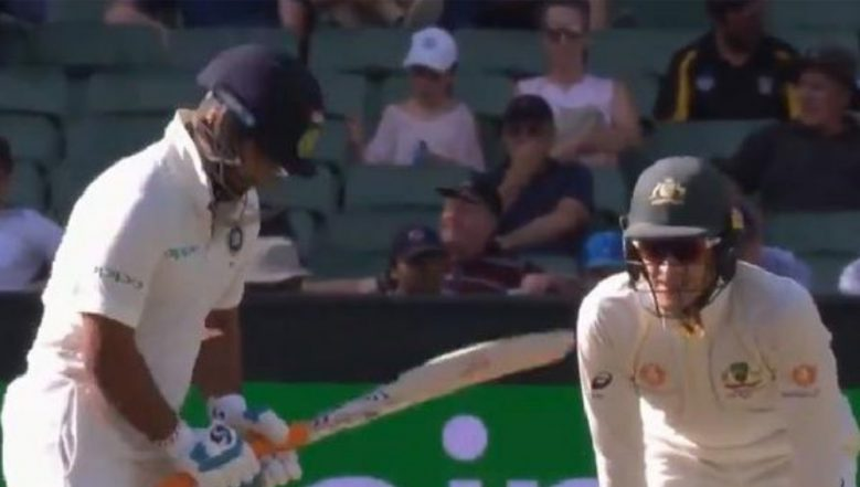Tim Paine TAUNTS Rishabh Pant For Being Dropped From the ODI Squad During India vs Australia 2018, Day 3, MCG (Watch Video)