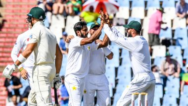 Live Cricket Streaming of South Africa vs Pakistan 2018-19 Series on SonyLIV and PTV Sports: Check Live Cricket Score, Watch Free Telecast of PAK vs SA 1st Test Day 2 Match on TV & Online