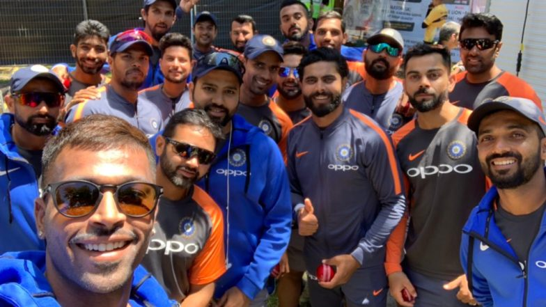 Hardik Pandya Clicks 'Best Selfie Ever' Ahead of Ind vs Aus Boxing Day Test at MCG