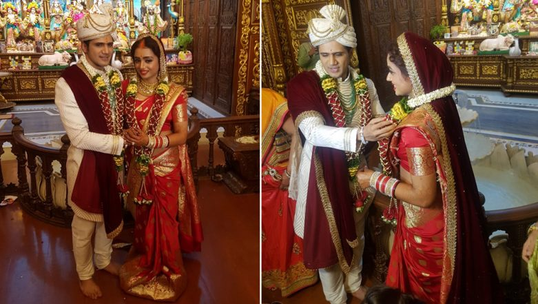 Yeh Rishta Kya Kehlata Hai Actress Parul Chauhan and Chirag Thakkar's Wedding Pictures!