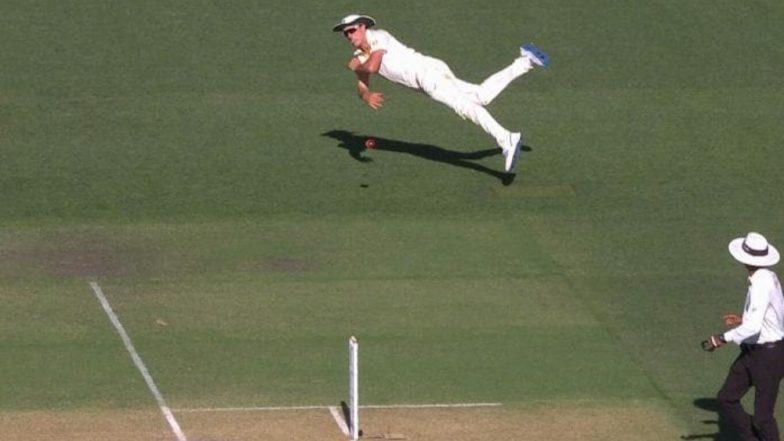 Pat Cummins' Stunning Direct Throw Sends Cheteshwar Pujara Packing During India vs Australia 2018, 1st Test (Watch Video Highlights)