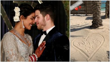 Priyanka Chopra and Nick Jonas on a Honeymoon? Former Posts a Picture From a Beach-Side Setting