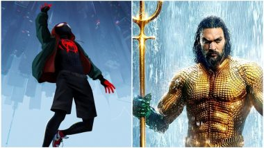 Spider-Man Into The Spider-Verse or Aquaman; Vote for Your Fave Superhero Movie on December 14!