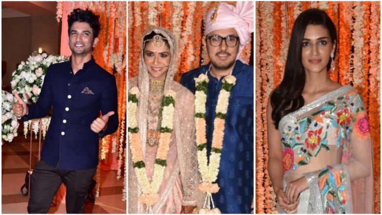 Dinesh Vijan - Pramita Tanwar Wedding: Former Love Birds, Kriti Sanon and Sushant Singh Rajput Grace The Occasion