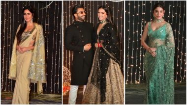 Priyanka Chopra - Nick Jonas Reception Best Dressed: Deepika Padukone, Katrina Kaif and Anushka Sharma's Ravishing Picks Steal Everyone's Thunder - View Pics