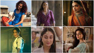 Deepika Padukone in Padmaavat, Alia Bhatt in Raazi, Rani Mukerji in Hichki - Celebrating 15 Best Performances By An Actress in a Leading Role in 2018